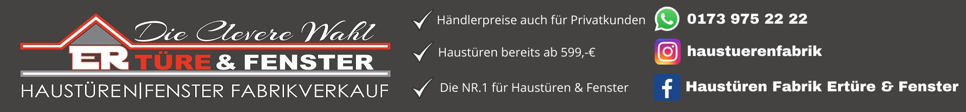 ER Türe & Fenster Logo